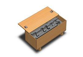 wood box & mould 272
