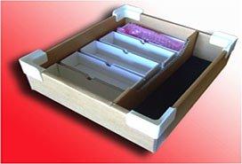 corrugated kit tray 272